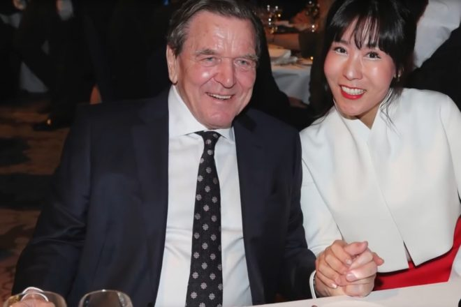 Schröder sued by Korean cuckold