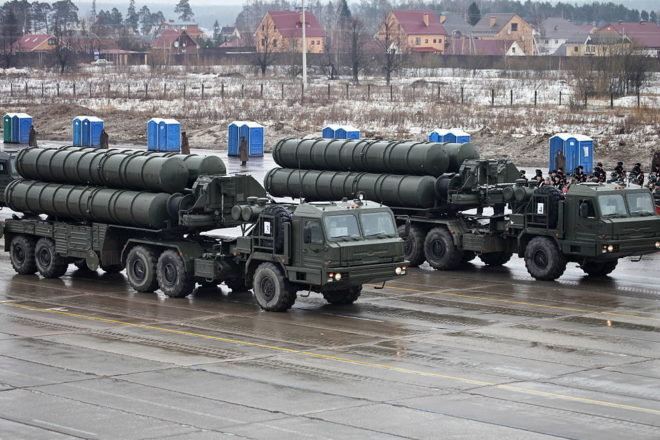 US threatens Turks over Russian air-defence system