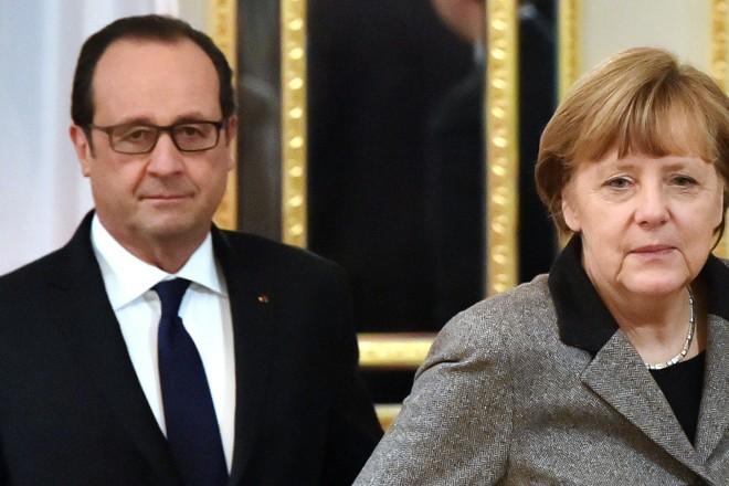 Les leaders allemand et français au Kremlin, des entretiens tendus