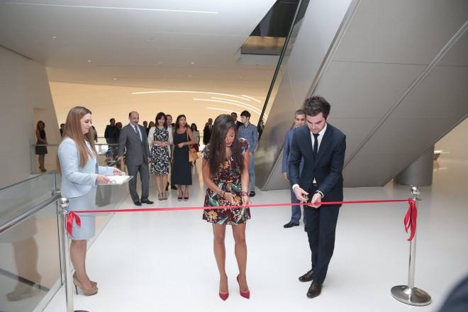 Azerbaïdjan : ouverture d'une exposition picturale organisée par la Fondation Heydar Aliyev à Bakou