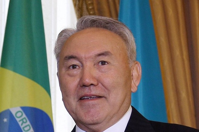Kazakhstan leader celebrates 75th birthday