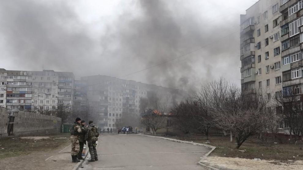 Marioupol : l'Ukraine prête à riposter aux tirs de roquettes des prorusses
