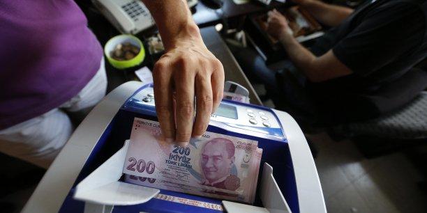 Turquie : la banque centrale pas pressée d'enrayer la baisse de la livre