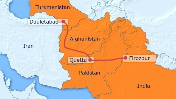Le Turkménistan met à jour les plans du gazoduc TAPI