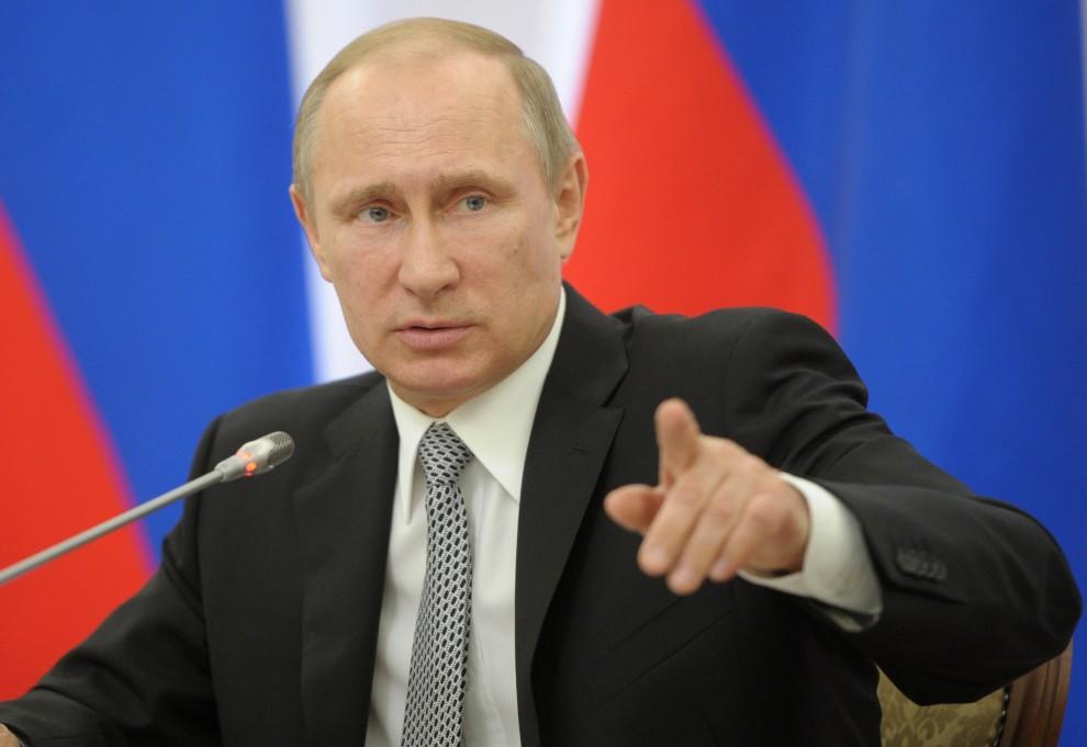 L'opposition politique vue par Poutine