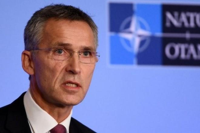 Le secrétaire général de l'OTAN à Kiev ce mois-ci