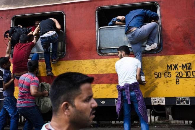 Migrants : inauguration d'une ligne ferroviaire entre la Serbie et la Croatie