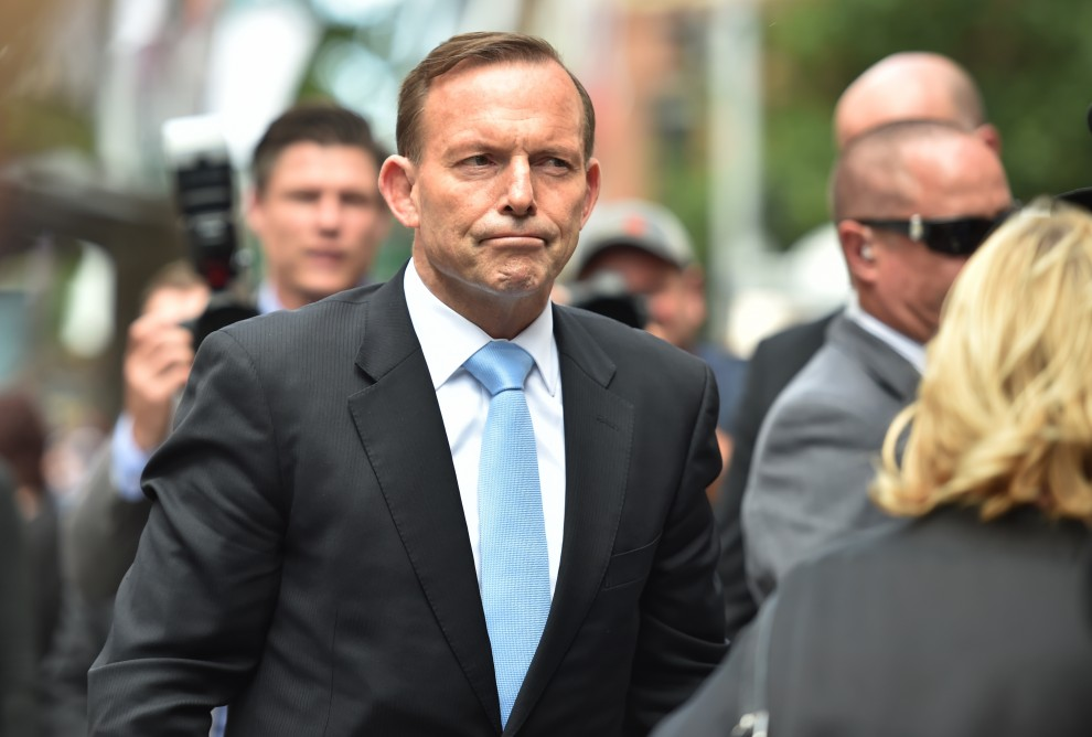 Tony Abbott refait surface en Ukraine
