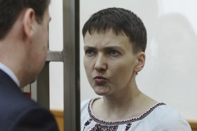 Russie : Nadejda Savtchenko poursuit sa grève de la faim et de la soif