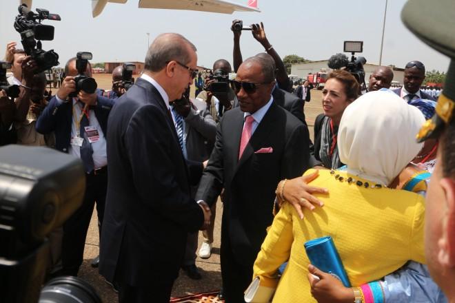 Erdogan achève une tournée en Afrique subsaharienne