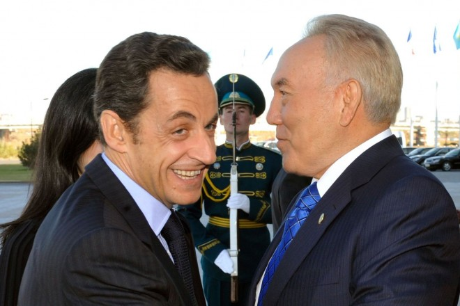 Sarkozy et les casseroles kazakhes
