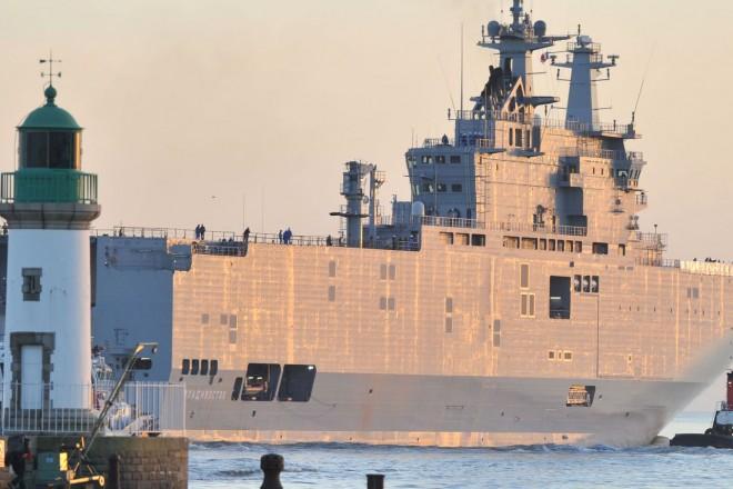 Les marins égyptiens actuellement en formation sur les deux Mistral