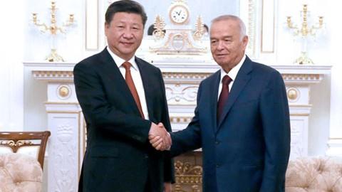 Xi Jinping en Ouzbékistan pour saluer les progrès de la nouvelle Route de la Soie