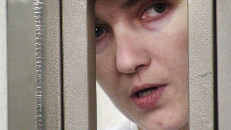 Ukraine : Nadejda Savtchenko sur le devant de la scène