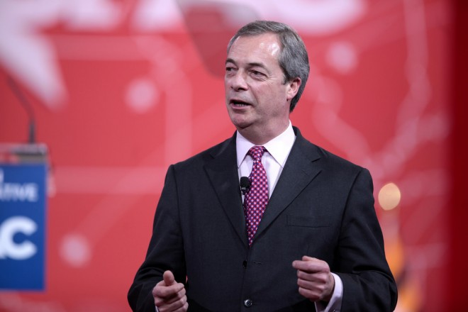 Farage resigns as Ukip boss