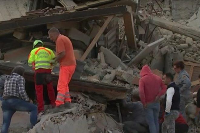 Aftershocks hamper rescue efforts