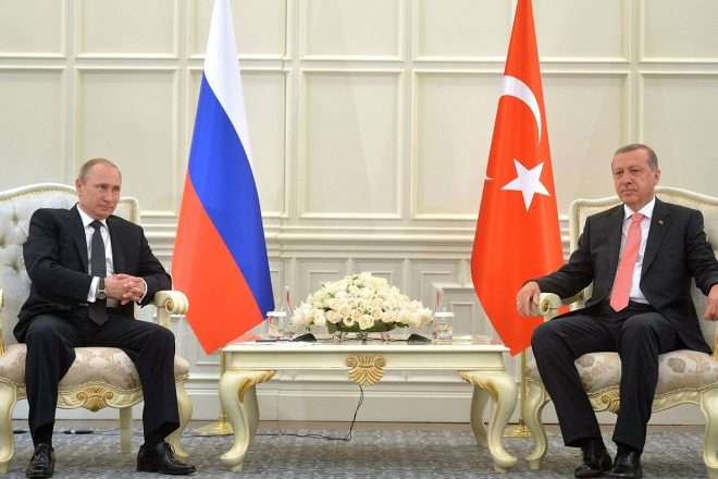 Putin and Erdogan hold military talks