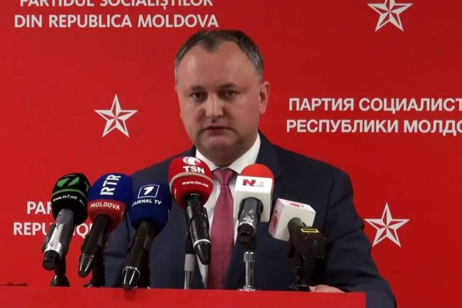 Moldova forced into run-off