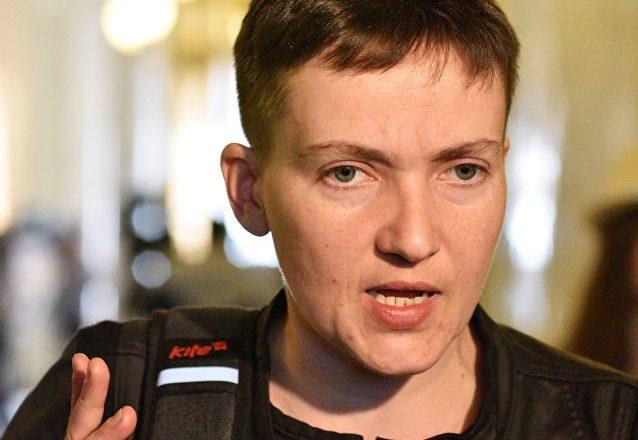 Nadejda Savtchenko appelle l'Ukraine à la reconnaissance de la Crimée russe