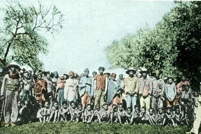 Namibian tribes sue Berlin over genocide