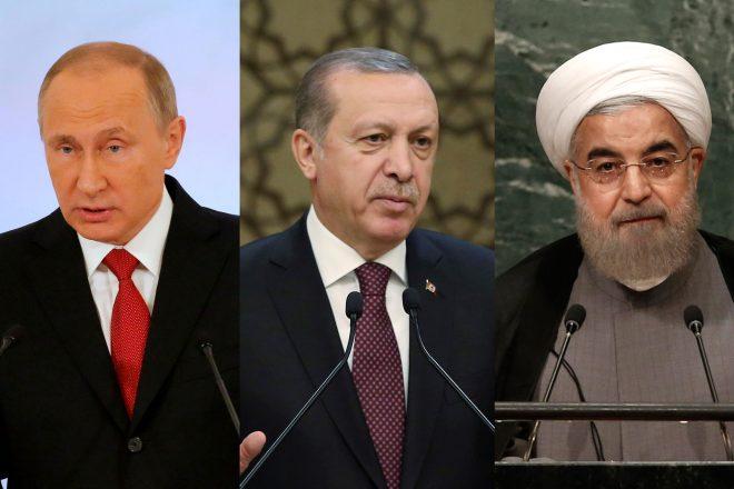 Pourparlers pour la paix en Syrie : de vifs échanges au sein de la « troïka »