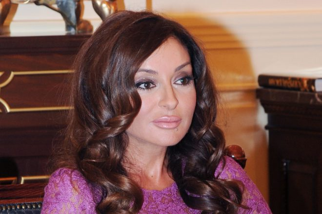 Azeri first lady named vice president.