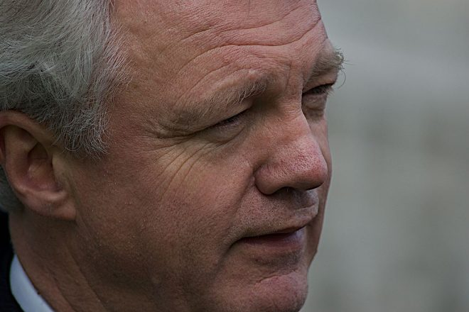 Davis claims sweeping legal powers