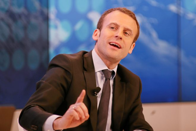 Polls tip Macron for victory