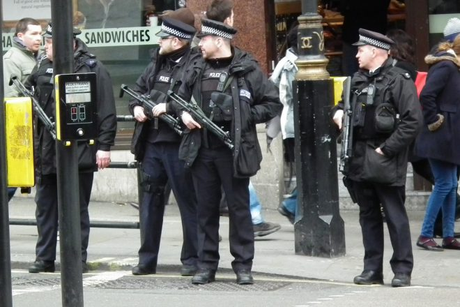 Police deployed after London attack