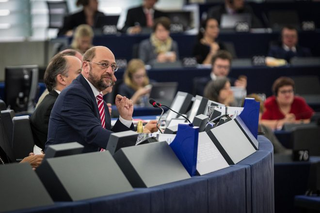Schulz picked to challenge Merkel
