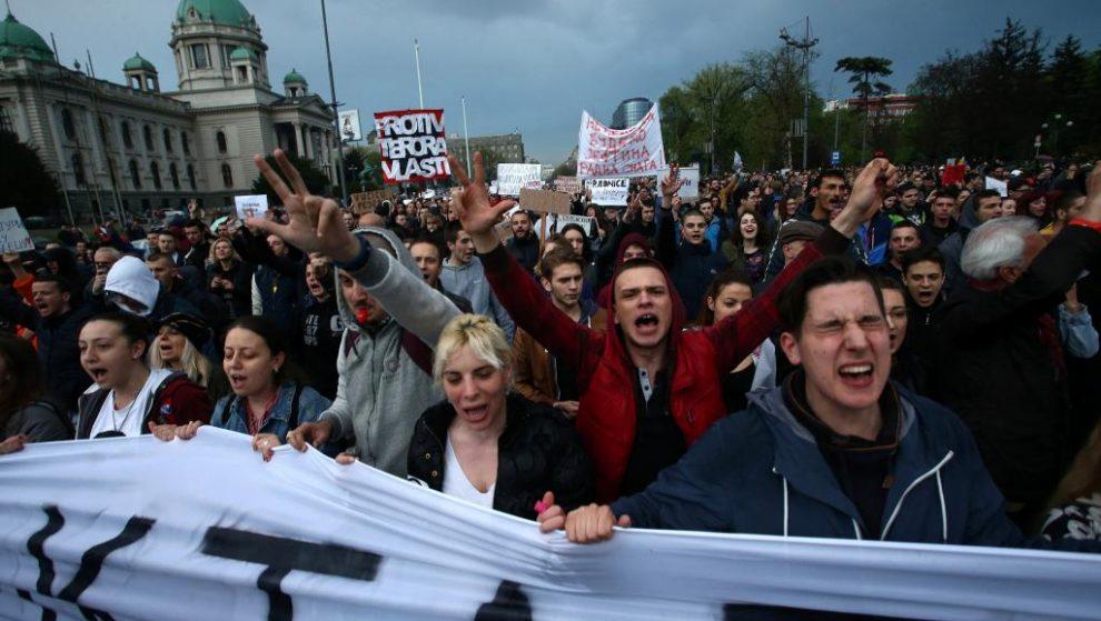En Serbie, le mouvement anti-Vucic s'amplifie