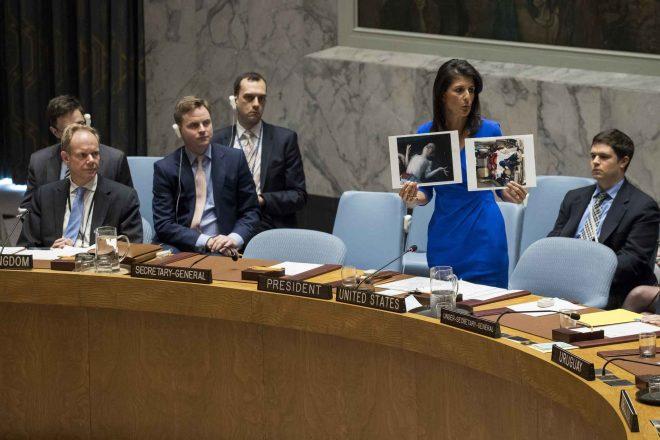 La résolution de l'ONU condamnant l'attaque chimique de Khan Cheikhoun bloquée par la Russie