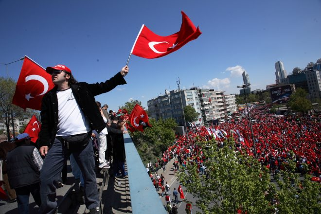 Turkey divided as Erdogan hails win