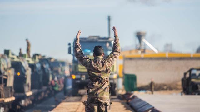La France déploie des chars « Leclerc » en Estonie