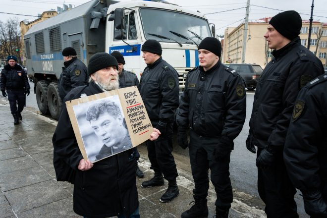 Five found guilty of Nemtsov murder