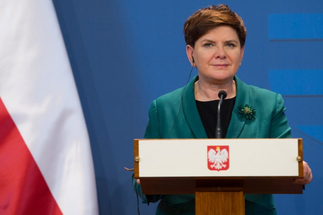 Polish PM under fire for Auschwitz speech