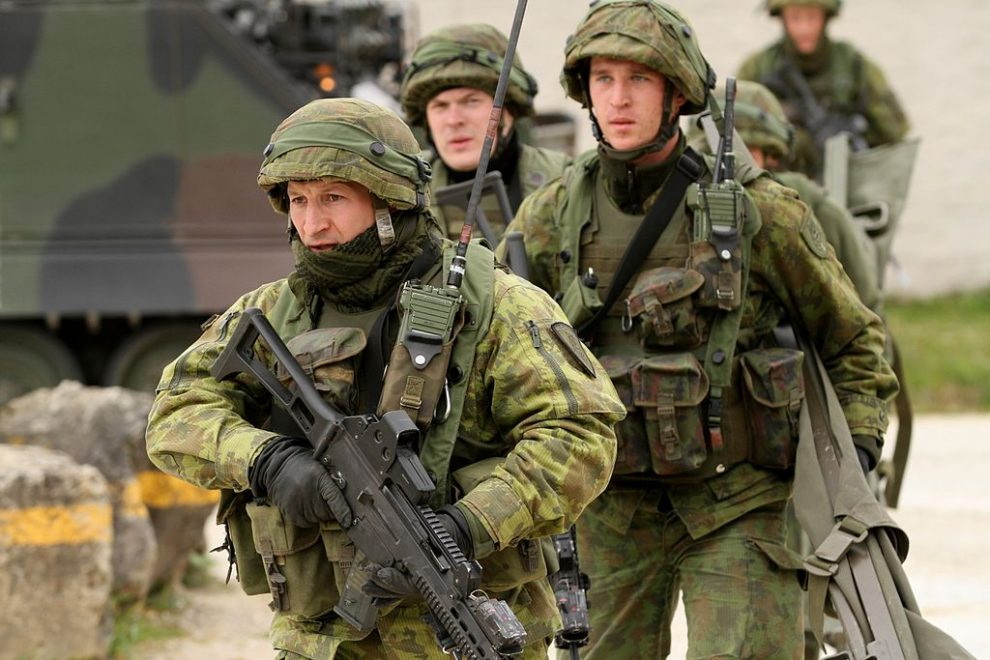 Lithuania fears giant Russian exercise