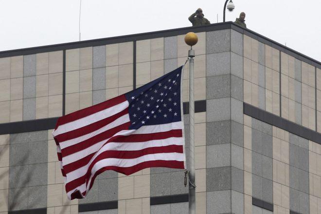 Ukraine : explosion à l'ambassade américaine, aucune victime à déplorer