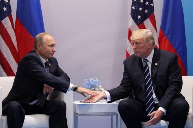 G20 : Donald Trump rencontre pour la première fois Vladimir Poutine