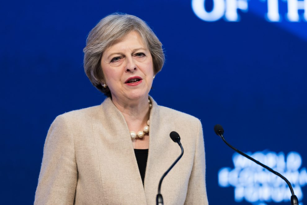May doesn't 'regret' calling election