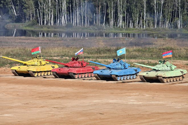 Russia wins military 'olympics'
