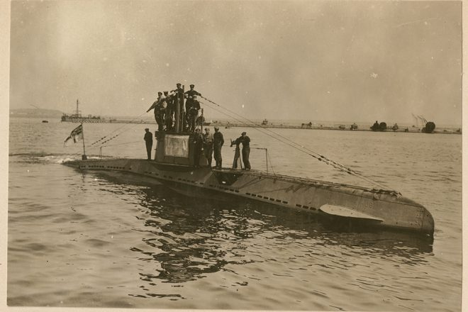 WWI U-boat found off Belgium