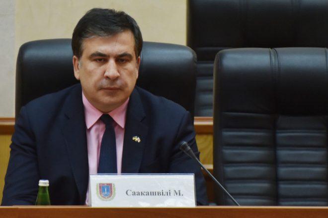 Saakachvili mobilise contre la corruption en Ukraine