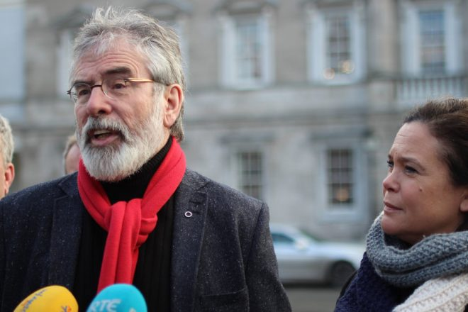 Unionist anger as Adams quits