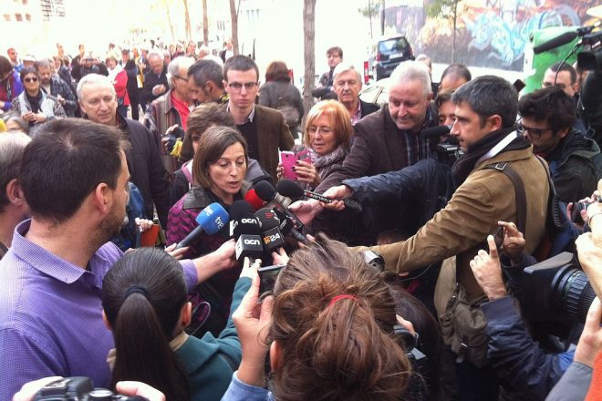 Catalan Speaker appears in court