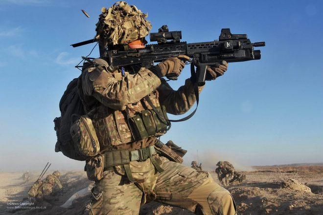 UK army rebranding blocked