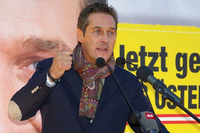 Strache to control Austrian security