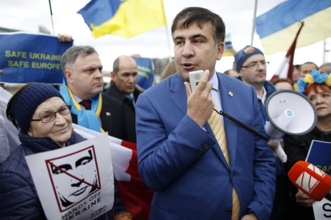 Saakachvili fait trembler le pouvoir à Kiev