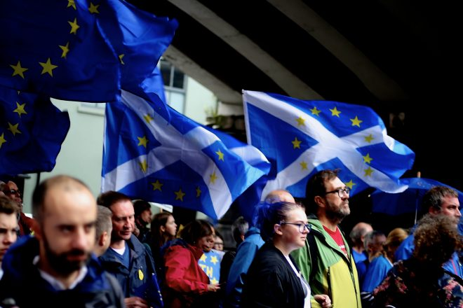May faces rising Scottish and DUP pressure on Brexit