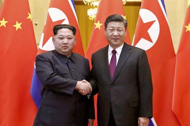 Kim Jong-un en visite en Chine